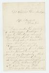 1862-12-15  Elias Davis requests descriptive list for discharge