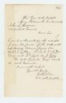 1862-12-22  Colonel Walker acknowledges commissions for Captain Libby, Lieutenant McGray, and Lieutenant A.J. Gray