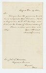 1862-12-27  Ansel Lennan requests a certificate of death for Sergeant Franklin Rich of Company F