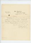 1863-01-13  Special Order 19 discharging Captain Albert L. Spencer for disability