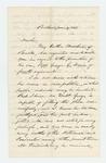 1863-01-19  Woodbury Davis recommends his nephew Captain George G. Davis for promotion