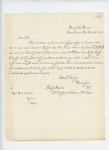 1863-02-21  John F. Singhi requests position in a colored regiment