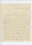 1863-02-25  John F. Singhi, Forage Master, requests recommendation for promotion from N.A. Farwell
