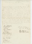 1863-03-08  James W. Webster and others request commission for Sergeant E.D. Redman of Company K