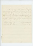 1863-03-09  Surgeon George W. Martin recommends promotion of Hospital Steward Charles S. McCobb