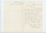 1863-03-12  S.L. Milliken recommends Orderly Sergeant Henry W. Ladd for promotion