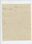1863-03-23  A.L. Spencer recommends Sergeant Ingalls for promotion