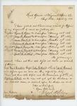 1863-03-27  Colonel Walker informs General Hodsdon of commissions
