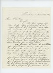 1863-03-28  N.A. Farwell recommends M.W. McManners to replace Captain Ayers