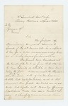 1863-04-04  Major General Hiram Berry recommends Commissary Sergeant Lemuel Grant for promotion