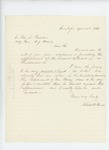 1863-04-14  Charles H. Peirce recommends Lemuel C. Grant for promotion