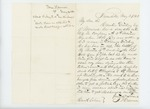 1863-05-04  True Harmon requests a discharge for Lorenzo Dickey of Company A who lost his leg at Second Manassas