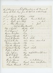1863-05-07  List of Casualties from April 29 to May 6, 1863 Actions Near Fredericksburg, Virginia