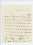 1863-05-14  T. Harmon and citizens of Belfast recommend promotion of Sergeant Doak