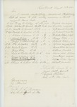 1863-08-18  Colonel Walker forwards list of names to fill vacancies