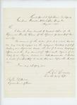 1863-08-22  Lieutenant Colonel L.D. Carver sends monthly returns