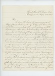 1863-09-21   Captain Robert H. Gray recommends Sergeant James McLaughlin pf Compay D for promotion to 2nd Lieutenant