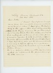 1863-11-06  Letter from Captain George Davis to his father from Libby Prison