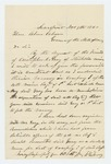1863-11-09  William McGilvery requests a promotion for Christopher C. Gray