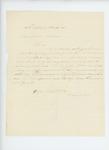 1863-11-09  P. Simonton recommends Captain Robert Gray for promotion