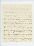1863-11-17  B. Litchfield writes C.A. Miller regarding a letter from his son at Libby Prison