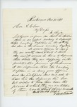 1863-11-20  N.A. Farwell writes Governor Coburn regarding promotion of two captains