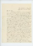 1863-11-25  Frank J. Bramhall sends Governor Coburn an engraved portrait of the late General Hiram Berry