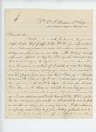 1863-11-26  William Harthorn wishes to reenlist in a Veteran Volunteer Battery