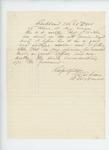 1863-11-28  Lieutenant Colonel L.D. Carver recommends J.A. Trim for promotion