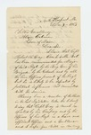 1863-12-07  Representative P.G. Eaton recommends Captain Gray for promotion, concerned he will be defeated by