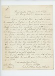 1863-12-14  Colonel Elijah Walker recommends Captain Jacob McClure for position as sutler
