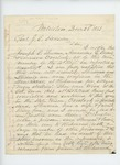 1863-12-25  Isaac Reed writes General Hodsdon regarding case of Joseph Sherman, Amandus Ludwick, and Emerson Overlock, imprisoned for