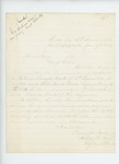 1864-01-17  Major Robert Gray requests the commission of Nathaniel Robbins be revoked and Henry Tibbetts be commissioned as 1st Lieutenant