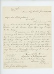1864-01-23  David Louderback requests certificate of enlistment for veteran bounty