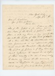 1861-04-22 John R. Adams offers his services as a chaplain of the Maine Volunteers by John R. Adams