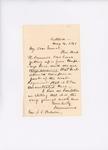 Letter to Adjutant General John Hodsdon regarding Mark Dunnell, May 4, 1861