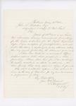 Letter from L. Radford to Adjutant General John L. Hodsdon, May 18, 1861