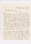 Letter from Colonel Mark H. Dunnell to Governor Washburn, May 27, 1861