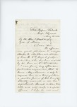 1861-05-31 Seth Scammon recommends Samuel Monson for appointment by Seth Scammon