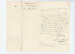 1861-04-20 Lieutenant Lewis B. Goodwin to Leonard Andrews regarding commission by Lewis B. Goodwin