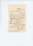 1861-05-04 Letter to Adjutant General Hodsdon from Drummond regarding recruitments
