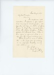 1861-05-09 Captain Isaac B. Noyes requests proper form for enlistments by Isaac B. Noyes
