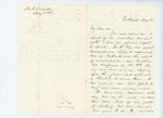 1861-05-18 Colonel Mark H. Dunnell reports on the condition of the regiment by Mark H. Dunnell