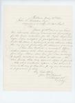1861-05-18 Lincoln Radford writes to the Adjutant General regarding provisions by Lincoln Radford