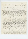 1861-05-27 Colonel Mark H. Dunnell writes to Governor Washburn regarding hats and supplies by Mark H. Dunnell