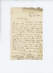 1861, May, 31. Letter from Seth Scammon to Israel Washburn