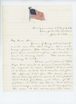 1861-06-03 Colonel Mark H. Dunnell updates Adjutant General Hodsdon on regiment status by Mark H. Dunnell