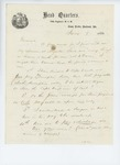 1861-06-08  C.A. Miller questions General Hodsdon about payroll procedures