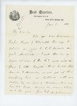 1861-06-08  Colonel Mark Dunnell writes to Adjutant General Hodsdon about recruiting trouble