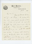 1861-06-10  Colonel Dunnell writes to Hodsdon regarding enlistment concerns